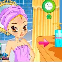 Игры для девочек где красят шорты